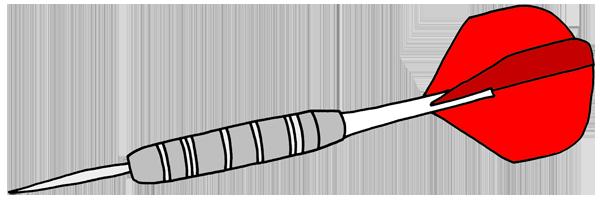 dartscheibe zeichnung